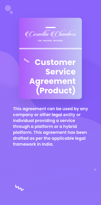 Customer Service Agreement (Product)@2x