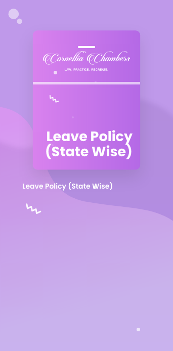 Leave Policy (State Wise)@2x