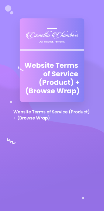 Website Terms of Service (Product) + (Browse Wrap)@2x